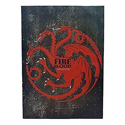 Game of Thrones Targaryen Sigil Canvas Banner produced by Toy Zany - quick delivery from UK.