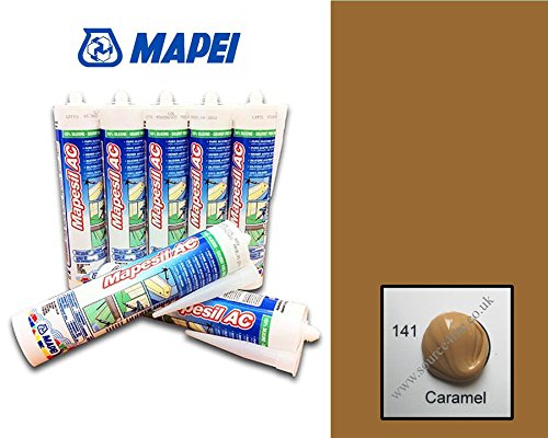 caramel-brown-coloured-silicone-sealant-310ml-26-colours