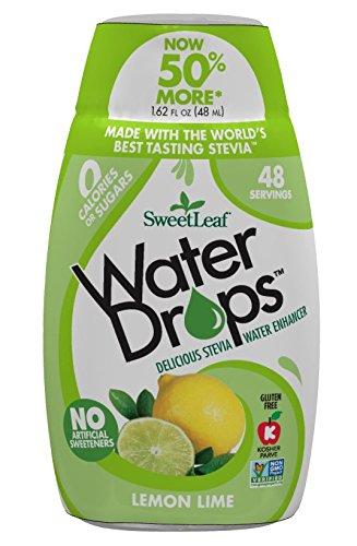 SweetLeaf - Water Drops Stevia Water Enhancer Lemon Lime - 1.62 fl. oz.