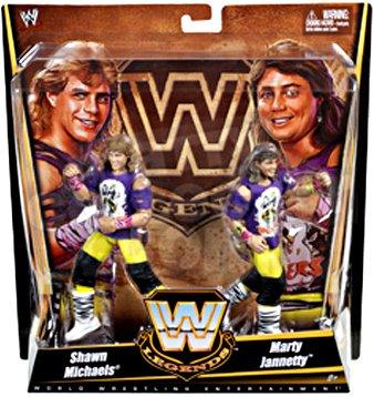 the Rockers Shawn Michaels und Marty Jannetty Figuren Set WWE Legends V3543
