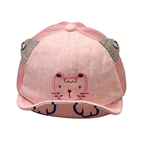 Lonshell  Sombrero Gorra de Dibujos animados Gorra de Béisbol Sombrero Bebé  Niño Niña Sombrero de Sol 5a688199759