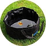 INNX Camping Wasser Aufbewahrung, Pet Bad Schwimmbad für Katze Puppy Hund in Outdoor/Indoor-/Reise