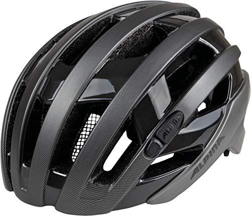 ALPINA Erwachsene Campiglio Fahrradhelm, Titanium-Black, 57-61 cm -