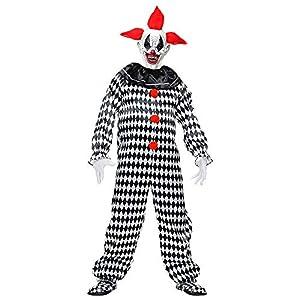 WIDMANN Srl disfraz Circus Payaso hombre y adultos, Multicolor, wdm70294