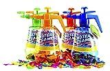[Toi-Toys / SHS] 100 Wasserbomben INKL. Pumpe + KNOTENHILFE  / ideal für unterwegs / WASSERBALLONS / Wasser Bomben / Wasserbombenpumpe