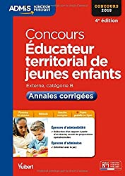 Concours Éducateur territorial de jeunes enfants - Annales corrigées - Catégorie B - Concours 2015