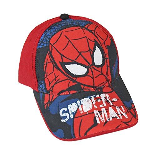 Preisvergleich Produktbild Baseball Cap Marvel Spiderman rot Gr. 53