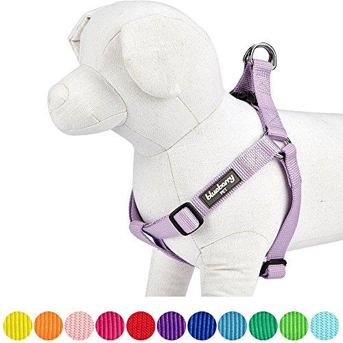 Blueberry Pet Step-In Geschirre Klassisch Einfarbig Hundegeschirr mit Zugentlastung Verstellbar...