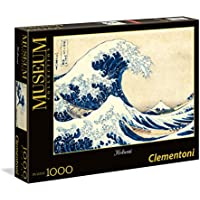 Clementoni 39378 - Puzzle 1000 Museum La Grande Onda di Hokusa