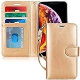 FYY Coque iPhone XR, Étui Portefeuille en Cuir PU Haut de Gamme avec [béquille]...