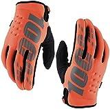100% Brisker Gloves - Orange, Medium
