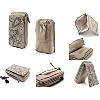 DFV mobile® - Multi-functional Vertical Stripes Pouch