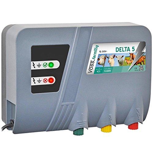 230V Weidezaungerät Delta 5 Netzgerät - Perfekte Hütesicherheit Elektrozaungerät