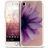 Coque iPhone 8,Coque iPhone 7,ikasus Coloré Art Peint Cristal Clair TPU Transparente...