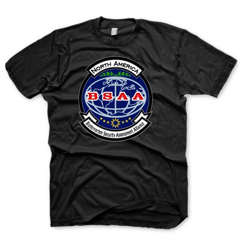 Resident Evil 6 T-Shirt - BSAA, black, Größe (Evil Kostüme Resident)