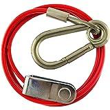 1m 3mm romper el cable de remolque con frenos con el extremo de la horquilla