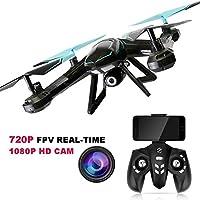 PowerLead RC Drone FPV Wifi RC Quadcopter 2,4 GHz 6-Axis Gyro Drone de control remoto con HD 2MP Camera Drone
