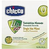 Chicco 00005896000000 Zzzzzz No Salviettine Monouso 15 Pezzi, Bianco