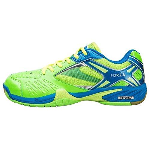 FZ FORZA Lingus V3 - Scarpe da Badminton da Uomo, Colore: Verde, Ragazzo, Verde, 39