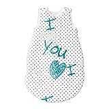 I Love You (Ich Liebe Dich) Pati'Chou baby Baumwolle Schlafsack 6 - 12 monate (78 cm, 1 tog)