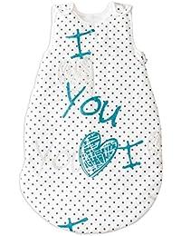 I Love You (Te amo) PatiChou Sacos de dormir sin relleno para