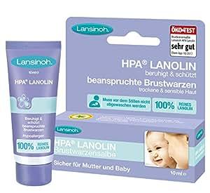 Lansinoh 10920 HPA Lanolin Brustwarzensalbe, 10 ml