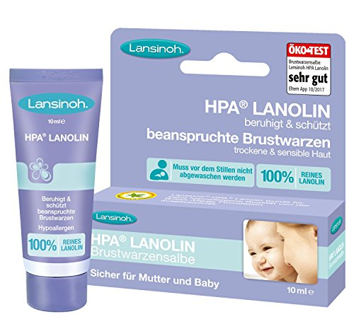 Lansinoh - HPA Lanolin Brustwarzensalbe