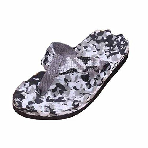 Fulltime® Men Summer Camouflage Tongs Chaussures Pantoufle Tongs intérieures et extérieures
