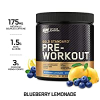 Optimum Nutrition Gs Pre Workout Blueberry Lemonade 300Gr 6/Cs