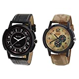 Relish Casual Wrist Watch Combo - Pack o...