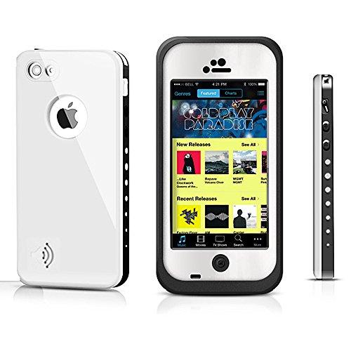iProtect Apple iPhone 5C wasserdichtes Outdoor Case Schutzhülle in weiss Apple iPhone 5C Outdoor Case Weiß