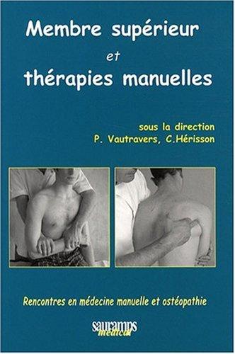 Membre supérieur et thérapies manuelles par Philippe Vautravers
