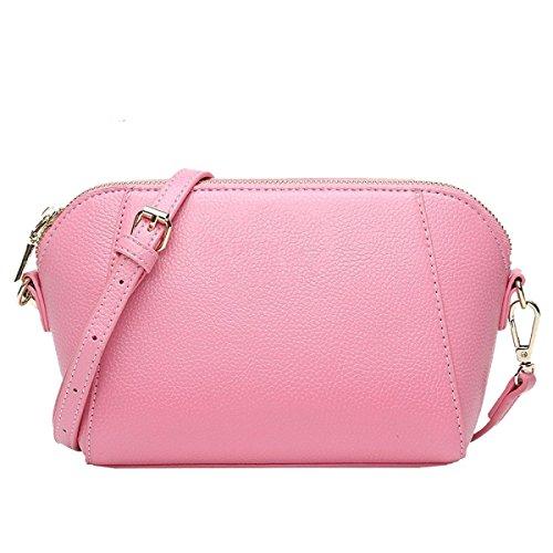 La Signora Yy.f Borsa A Tracolla Borse Cerniera Borse A Tracolla Donna Del Design Borse Borsa Signore Multicolore Pink