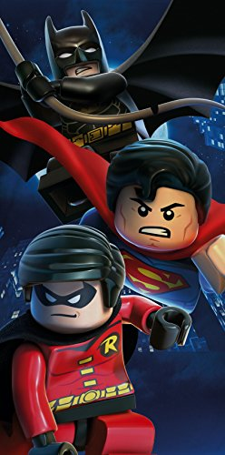 Toalla LEGO Superman, Batman, Robin