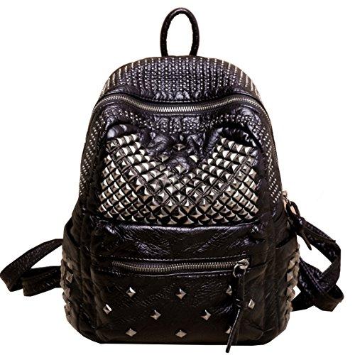 Borsa a tracolla doppia/Versione coreana di zaino/Wild women della moda/Ms scuola di borse di vento/Sacchetto di scuola-A B