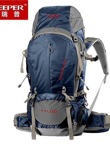 HWB/ 50L L Tourenrucksäcke/Rucksack / Wandern Tagesrucksäcke / Rucksack Camping & Wandern / Klettern / Reisen DraußenWasserdicht / navy blue