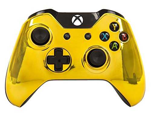 """Gold"" Xbox One Rapid Fire Modded Controller Pro Finish 40 Mods for COD Advanced Warfare, Ghosts Quickscope, Jitter, Drop Shot, Auto Aim, Jump Shot, Auto Sprint, Fast Reload, Much More 51wmbvCM9cL"