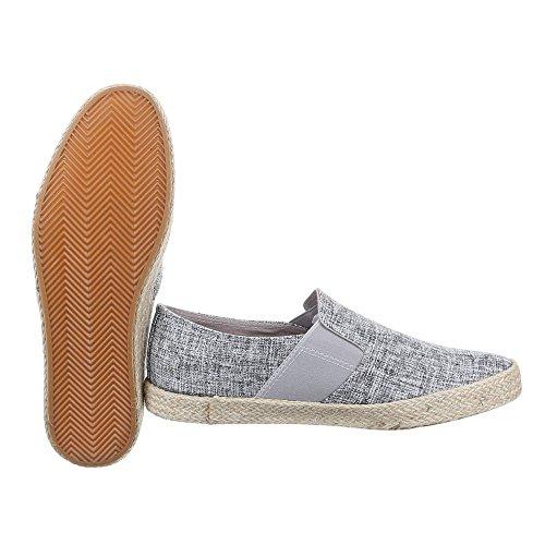 Ital-Design - Pantofole Uomo Beige