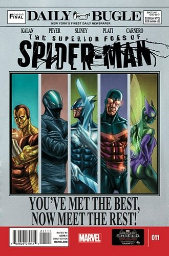 Superior Foes of Spider-Man (Vol 1) # 11 (Ref-1396665704)