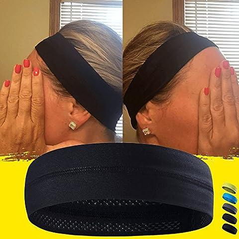 Bandeau de refroidissement qui peut Absorber la sueur et qui A une très haute élasticité, très utile pour le fitness, salle de sport, yoga, idéal pour homme et femme