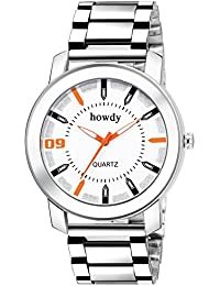 Howdy Men Stainless Steel Chain Watch (howdy-ss677)