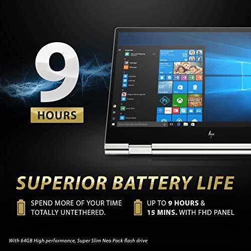 "HP Envy x360 15T Late 2019 i7-8565U 1.8GHz, 4GB MX150 Nvidia, 16GB RAM, 1TB 7.2K RPM+16GB Intel Optane, 15.6"" FHD Contact, Win 10 Dwelling, B&O Audio system, HP Stylus, USB-C, Fingerprint Reader Image 5"