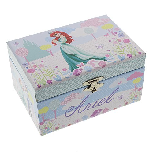 Disney-Princess-15cm-Musical-Jewellery-Box-ARIEL