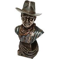 John Wayne Bronze `Bust` Figurine. by John Wayne Bronze `Bust` Figurine.