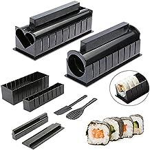 10pcs Pack Kit, nuevo Diy fácil hacer Sushi Sushi Maker Máquina Kit, arroz Roller Mold rodillo cortador cocina herramientas