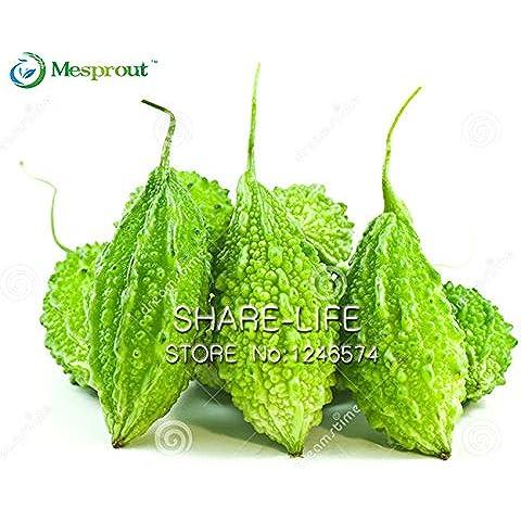 Spedizione gratuita Giardino Melone amaro Seeds Vegetables 10g / Guangdong verde pera di balsamo corpo è semi casa e il giardino delle piante - Verde Melone Seeds