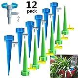 DQICE Juego de 6/12 riego por Goteo automático, Sistema de riego para jardín