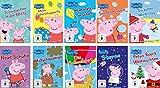 Peppa Pig, Vols. 1-9 + Weihnachten (10 DVDs)