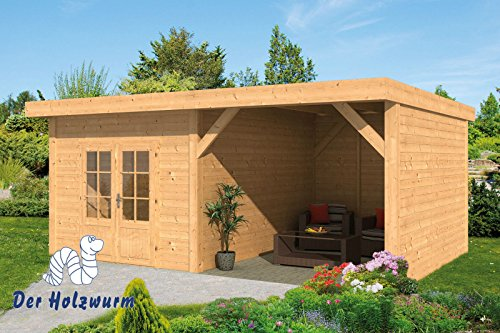 Gartenhaus Raalte ca. 600x410 cm Selbstbaupaket
