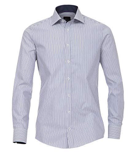 Venti Herren Businesshemd 172726700, (Blau 101), 41 (Herstellergröße: L)